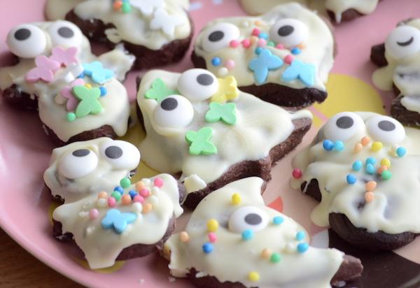 Kekse mit Augen