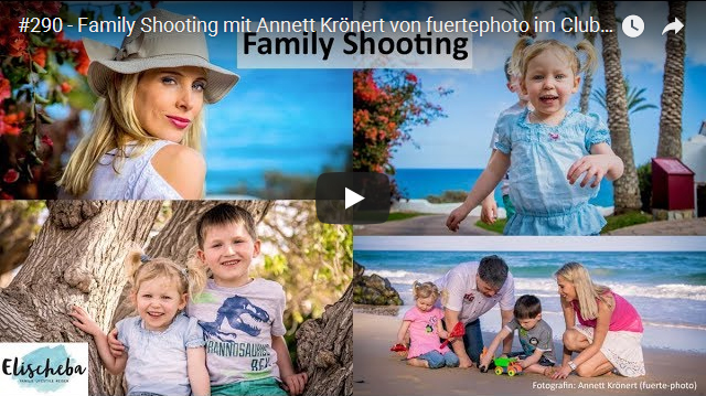 Familienfotos auf Fuerteventura – Video vom Shooting