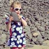 Emily an der Costa Calma auf Fuerteventura