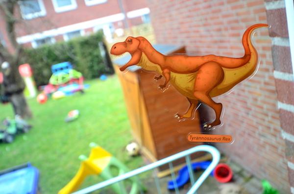 Dinosaurier Aufkleber
