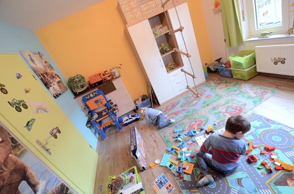 Kinderzimmer mit polini kids
