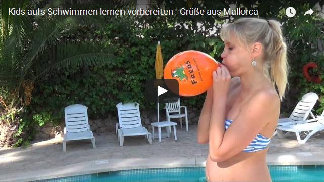 Kids aufs Schwimmen lernen vorbereiten