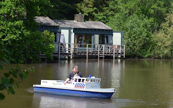 Bootsfahrt im Parc de Eemhof