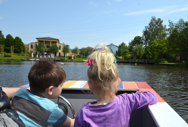 Bootsfahrt im Center Parc