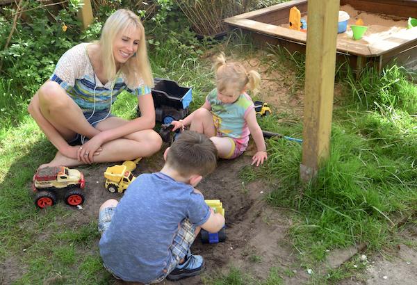 wilder Garten für Kinder