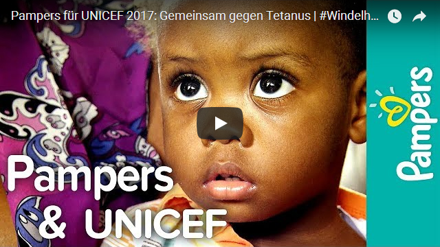 Pampers für UNICEF 2017 Gemeinsam gegen Tetanus