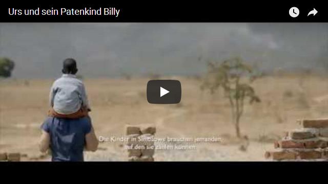 Urs und sein Patenkind Billy