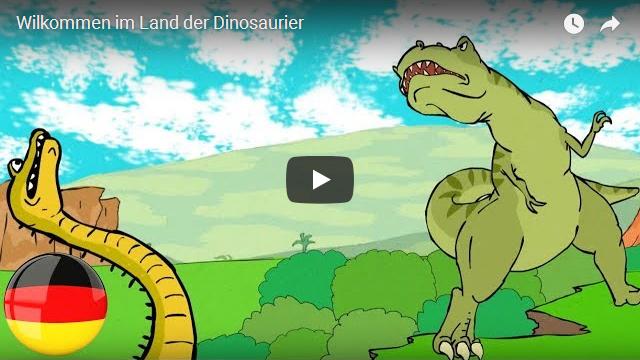 Willkommen im Land der Dinosaurier