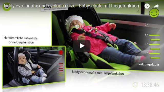 kiddy_evo_lunafix_640x360 Babyschale mit Liegefunktion
