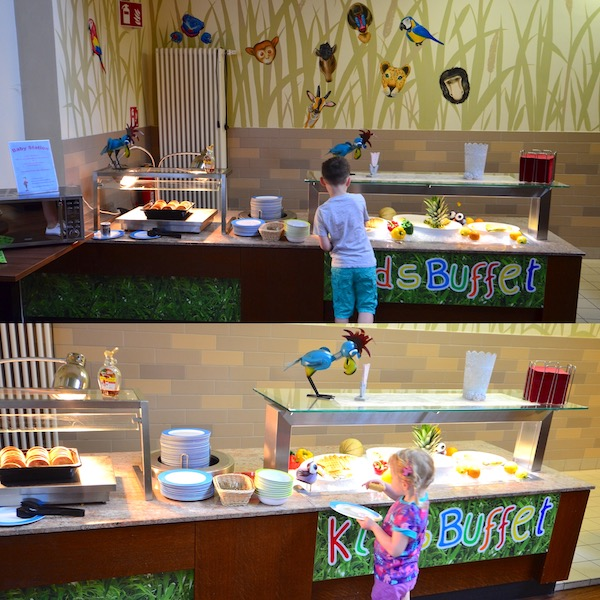 Kids Buffet im Center Parc
