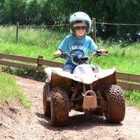 Quad Bike fahren für Kinder