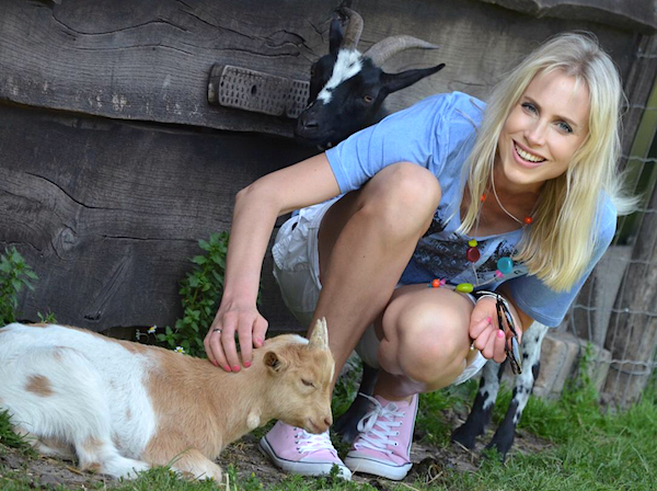 Elischeba im Tierpark in Zwolle
