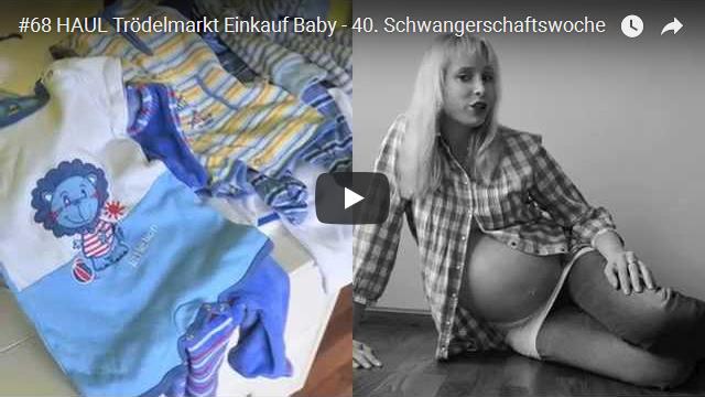 ElischebaTV_068_640x360 HAUL Trödelmarkt Einkauf Baby