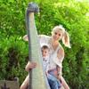 Elischeba und Leon im Dinopark Zwolle