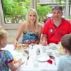 Family Wilde im Pullman Hotel Stuttgart Fontana