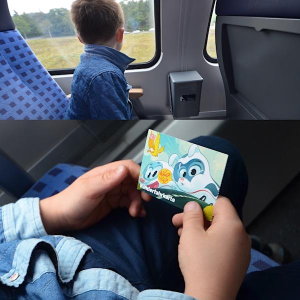 Kinderfahrkarte Zug