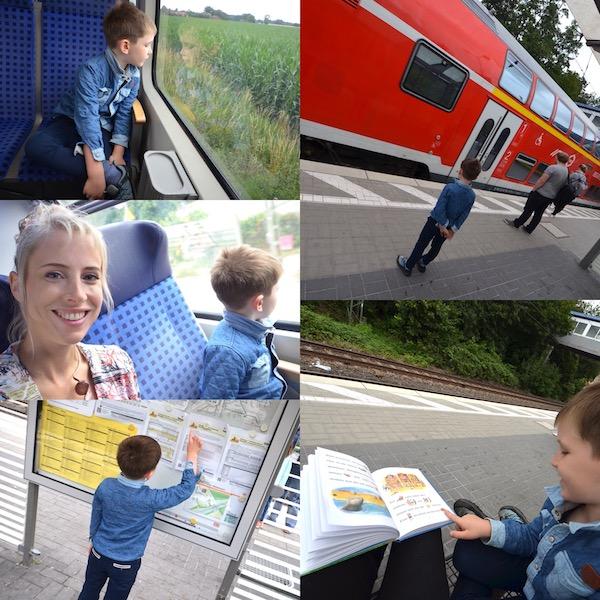Tipps fürs Zug fahren mit Kind