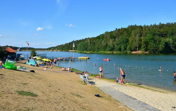 Twistesee im Sommer 2018