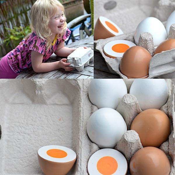 Eier zum spielen