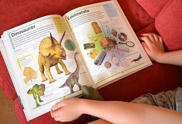 Dinosaurier im Kinderlexikon