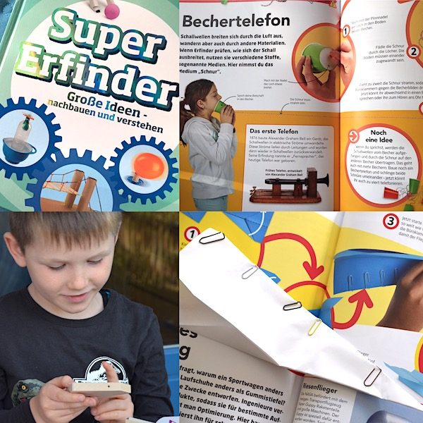 Buch Super Erfinder