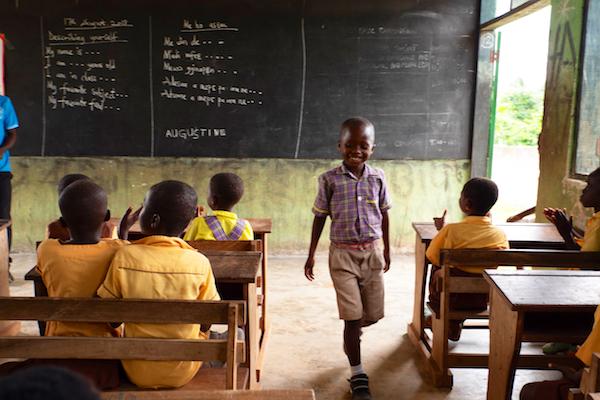 Schulbildung mit World Vision