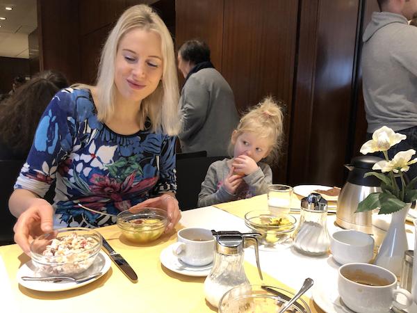 Frühstück in Loews Hotel