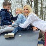 Elischeba mit Kids im Allwetterzoo Münster