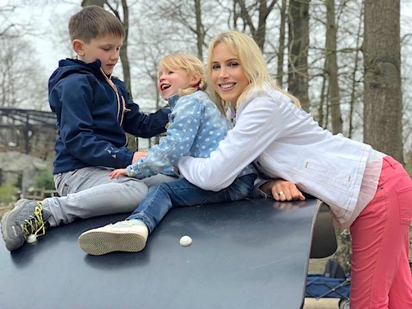 Elischeba mit Kids im Allwetterzoo in Münster