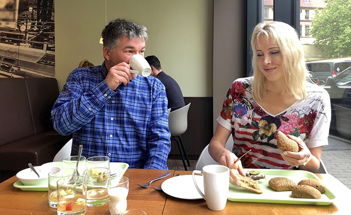 Frühstück im Travel24 Hotel Leipzig