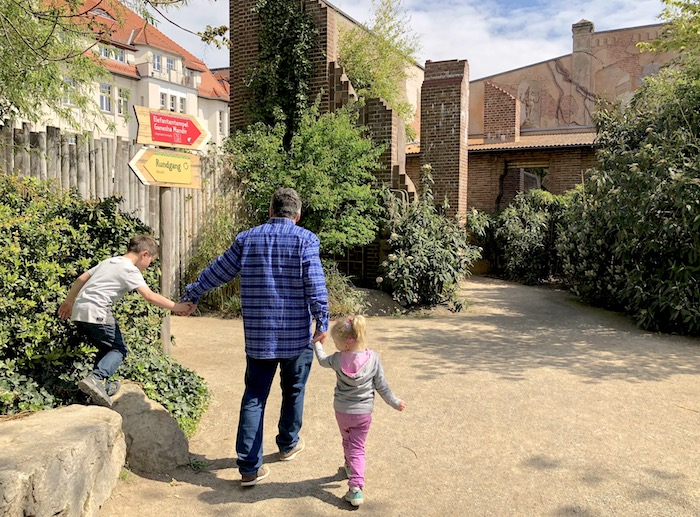 Rundgang im Zoo
