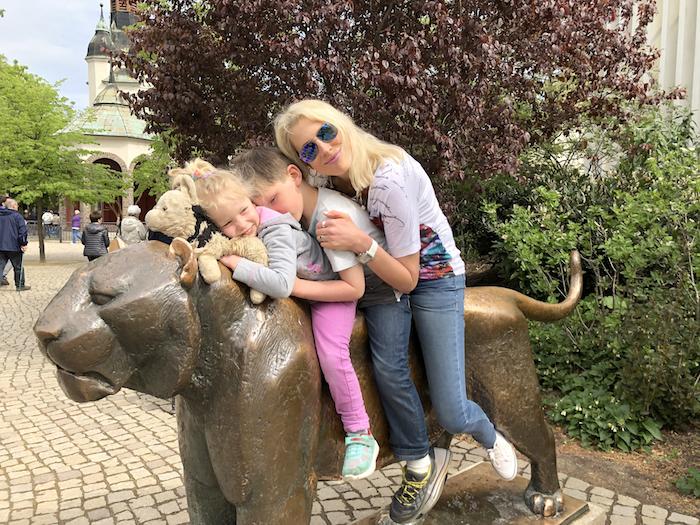Zoo Leipzig mit Kindern